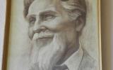 Dail. A.Žmuidzinavičiaus portretas, sukurtas dail. Vytauto Klemkos, skirtas 100-ioms dailininko gimimo metinėms.