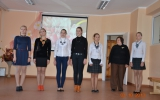 Mokytojos D. Simanavičienės papuošalų paroda.