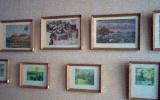 Muziejuje yra dailininko prieškario ir pokario meto paveikslų reprodukcijų. Čia jų sukaupta apie 80.